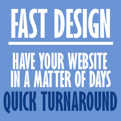 Fast & Cheap website design