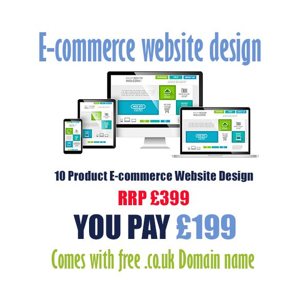 cheap 10 product ecommerce website design