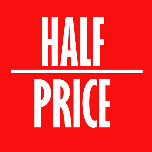 half price website design
