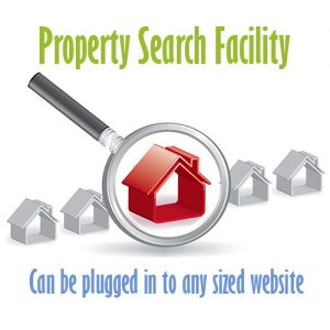 property search facility for website